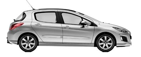 sportelli usati portiere e tutti i ricambi usati per la parte laterale destra dell'auto